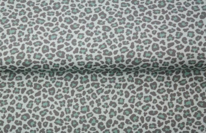 Leopard - Mintgrön