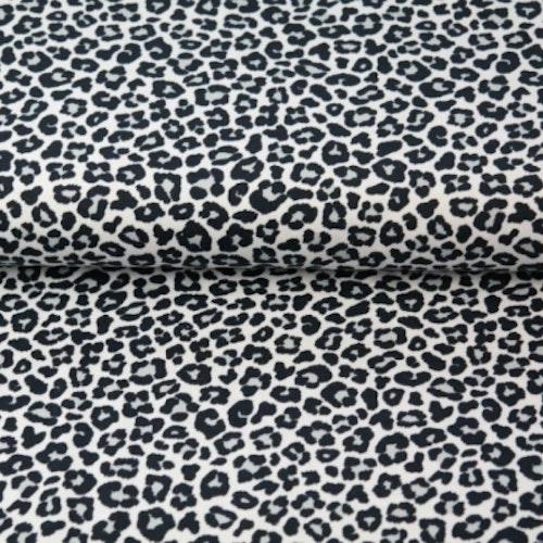 Leopard - Svart / Vit