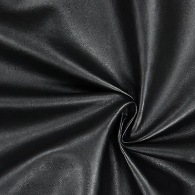 Konstskinn / galon / läder - Svart