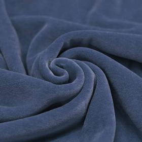 FILIPPA - Denimblå Velour