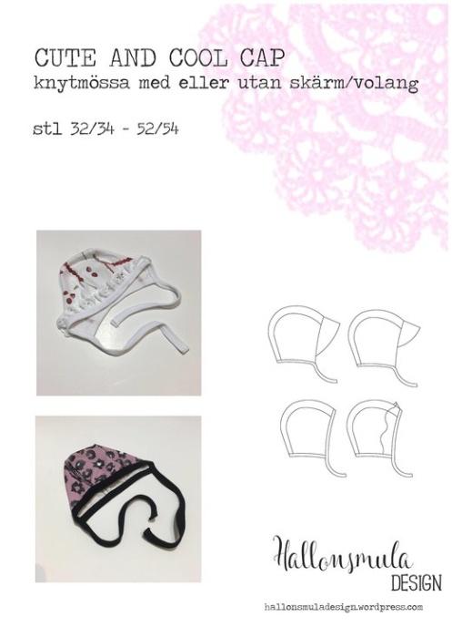 Hallonsmula Cute and cool cap
