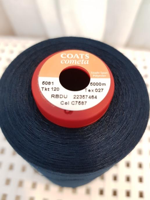 Coats Moneta 5000 m - Mörkblå