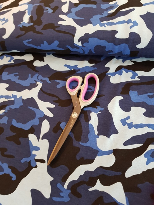 Blå Camouflage TRIKÅ