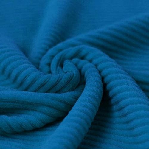 Bredspårig manchestervelour - Blå