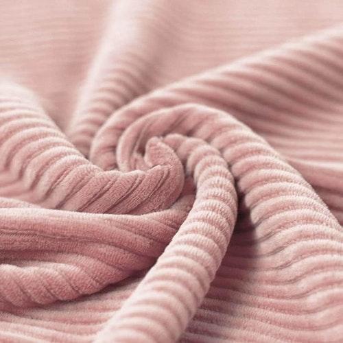 Bredspårig manchestervelour - Pale old pink