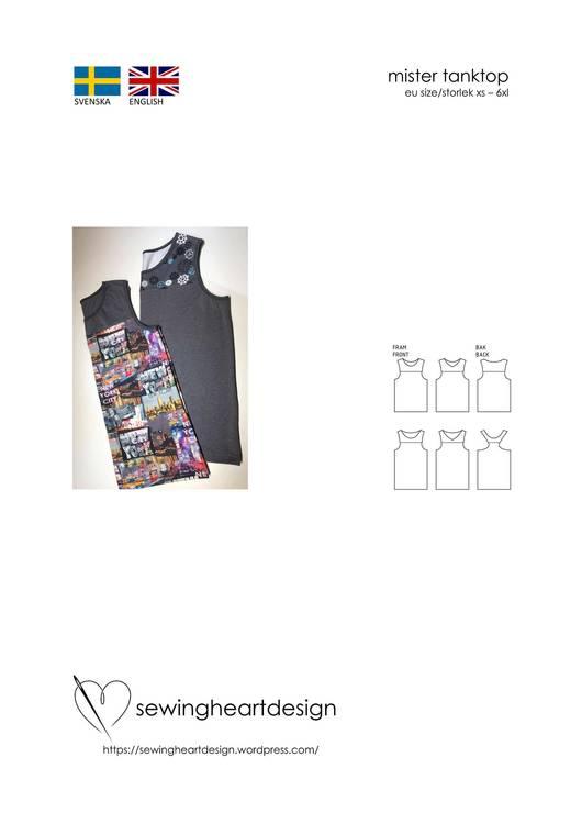SewingHeart Design Mister Tanktop