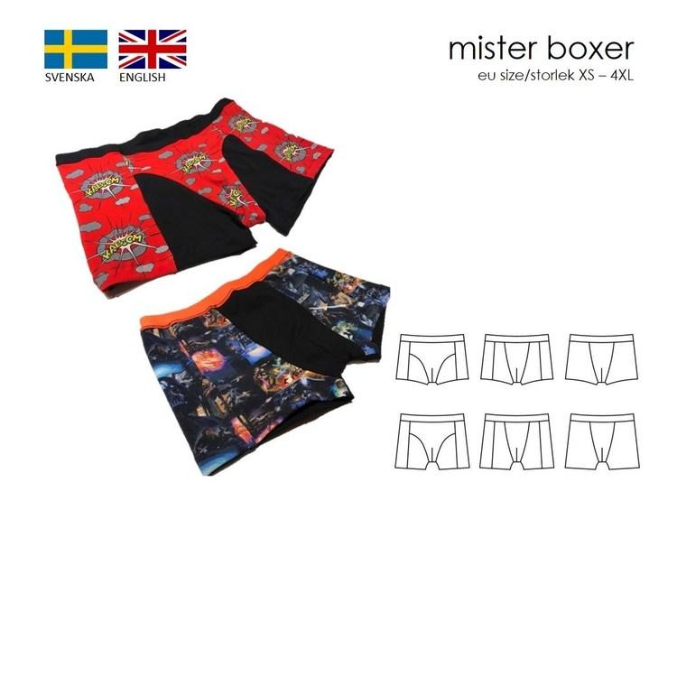 SewingHeart Design  Mister Boxer