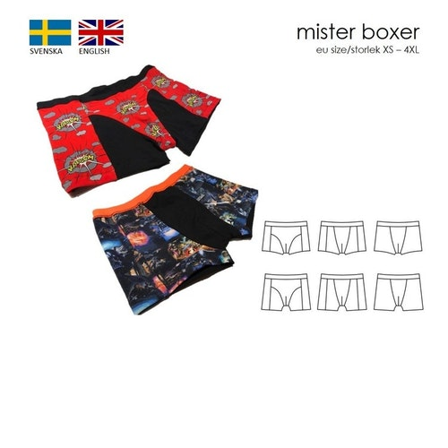 SewingHeart Design  Mister Boxer