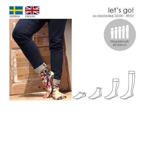 SewingHeart Design Let's Go! Socks