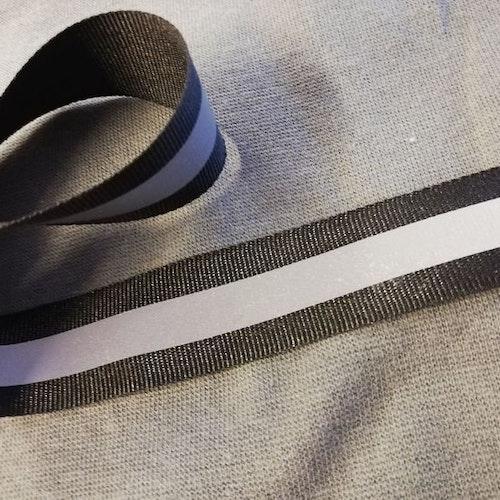 Reflexband - Svart