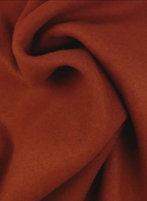 Blended Wool - Bränd terrakotta