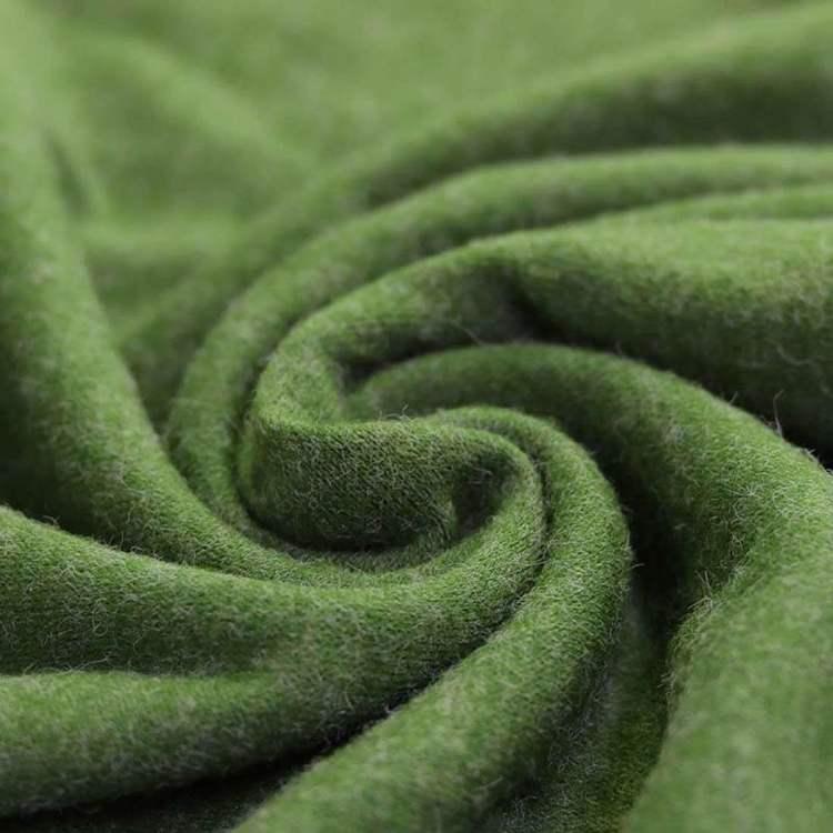 No-angora Jersey grön