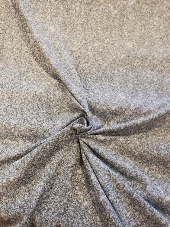 Bomullstrikå - Tryckt glitter silver