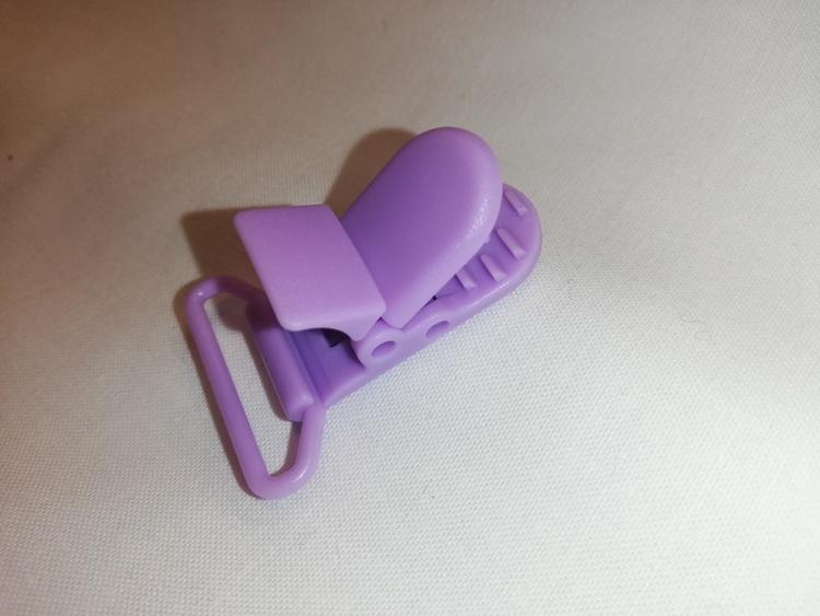CLIPS, av plast syrenlila