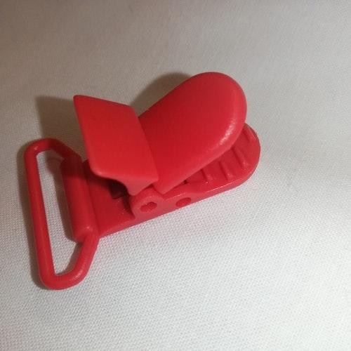 CLIPS, av plast röd