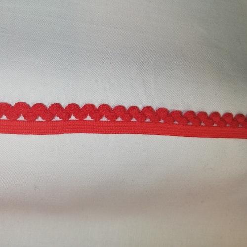 Trosresår 12mm Röd B spets