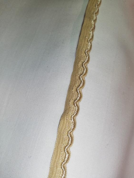 Trosresår 10mm Beige A spets