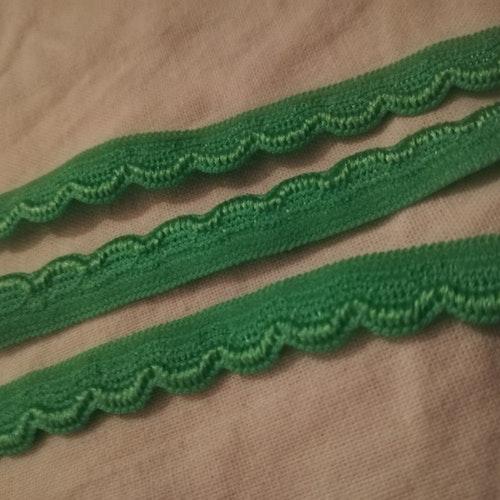 Trosresår 10mm Grön A spets