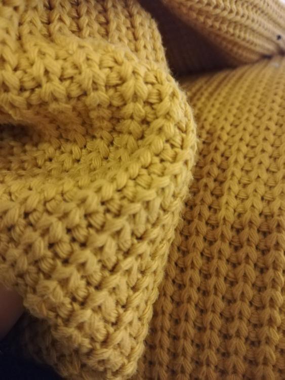 Big Knit - Senap