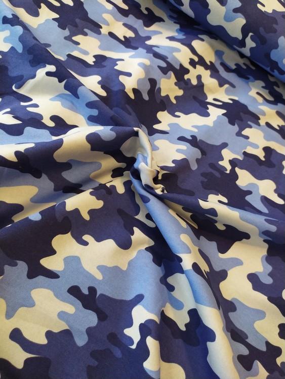 College öglad baksida - BLÅ Camouflage