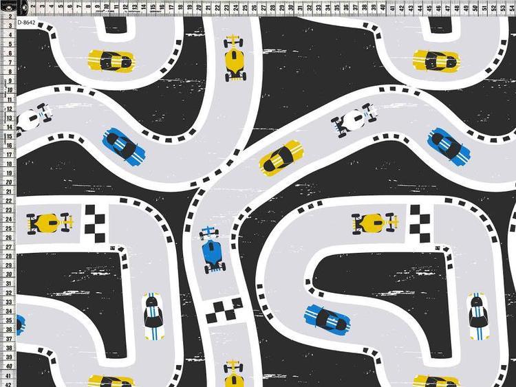 Bomullstrikå - Köra Bil