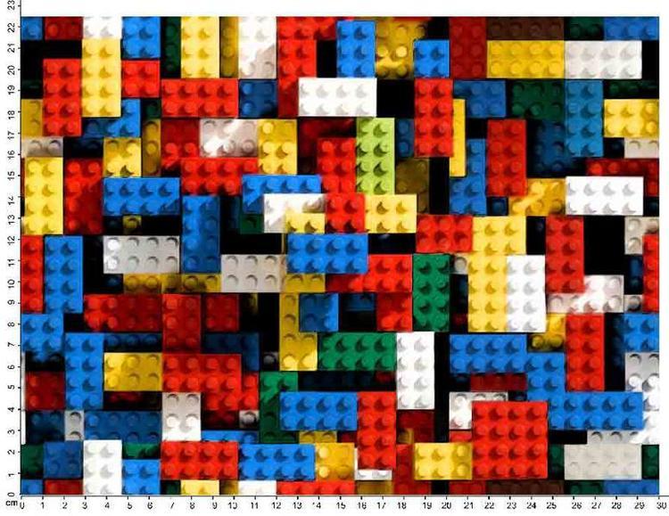 Bomullstrikå - Lego