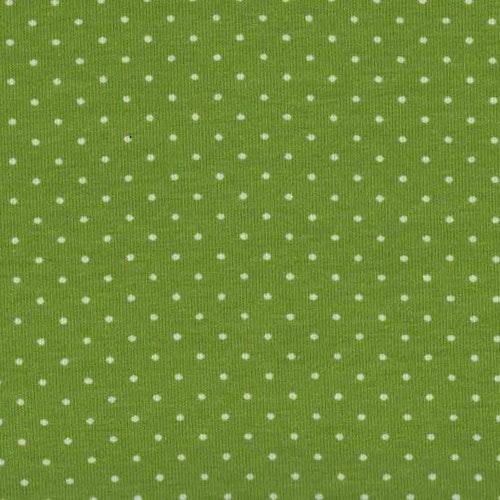 Lime trikå med prickar