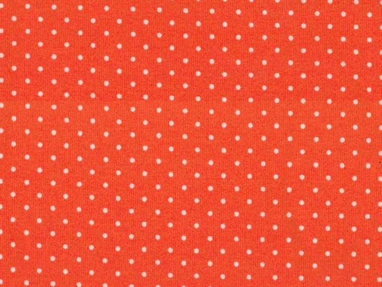 Orange små prickar