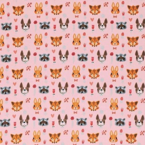 Bomullstrikå - Djur med öron Lax