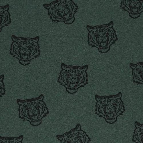 Bomullstrikå - Tiger Grön