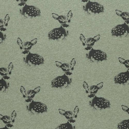Bomullstrikå -  Mellangrön  Bambi