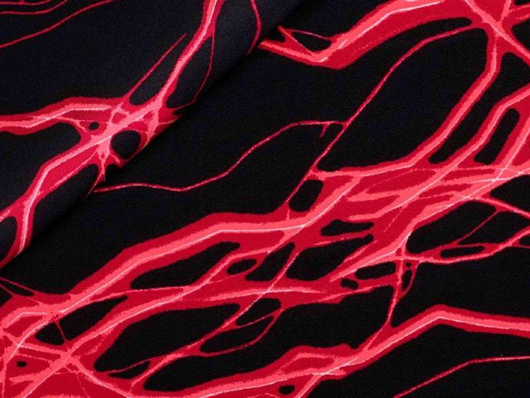 Lycra Neon Röd