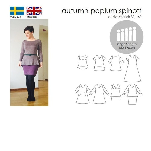 SewingHeart Design Autumn Peplum Spinoff (APS)
