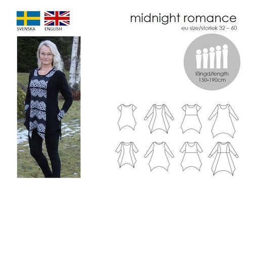 SewingHeart Design Midnight Romance