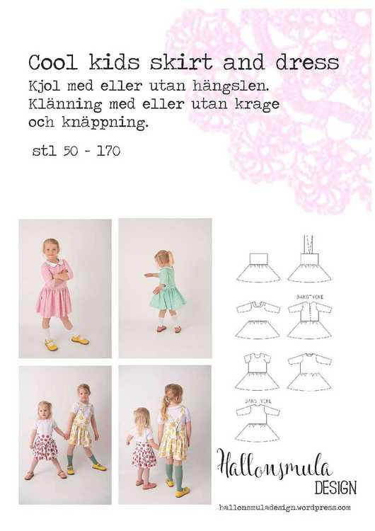 Hallonsmula Cool kids skirt and dress