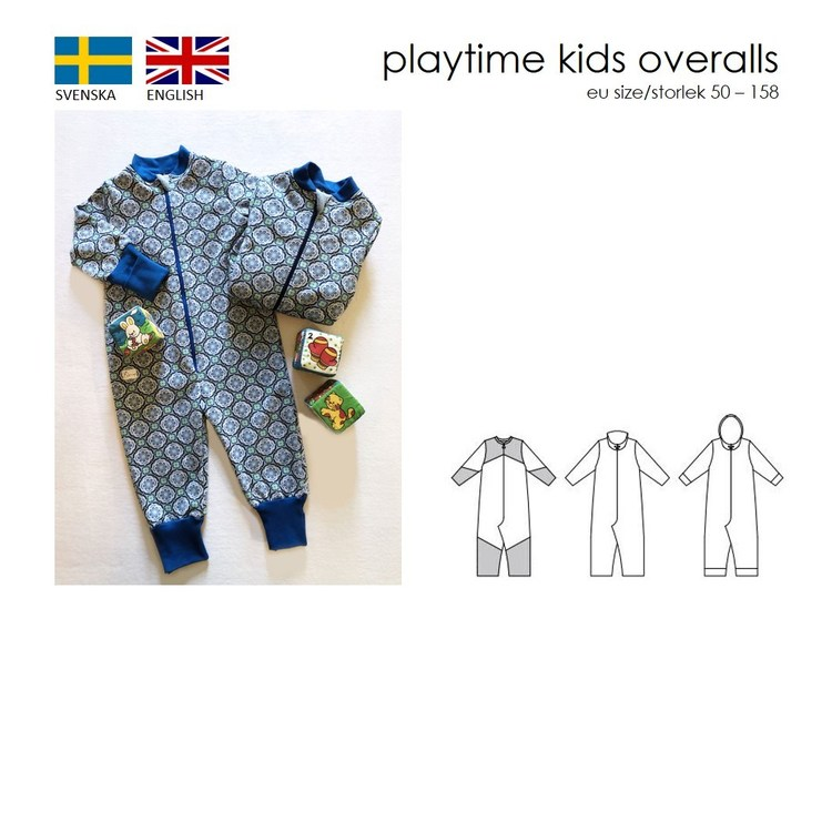 SewingHeart Design Playtime Kids Overall