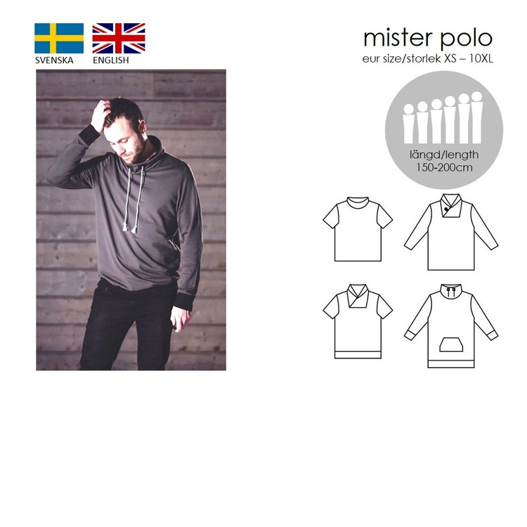 SewingHeart Design Mister Polo