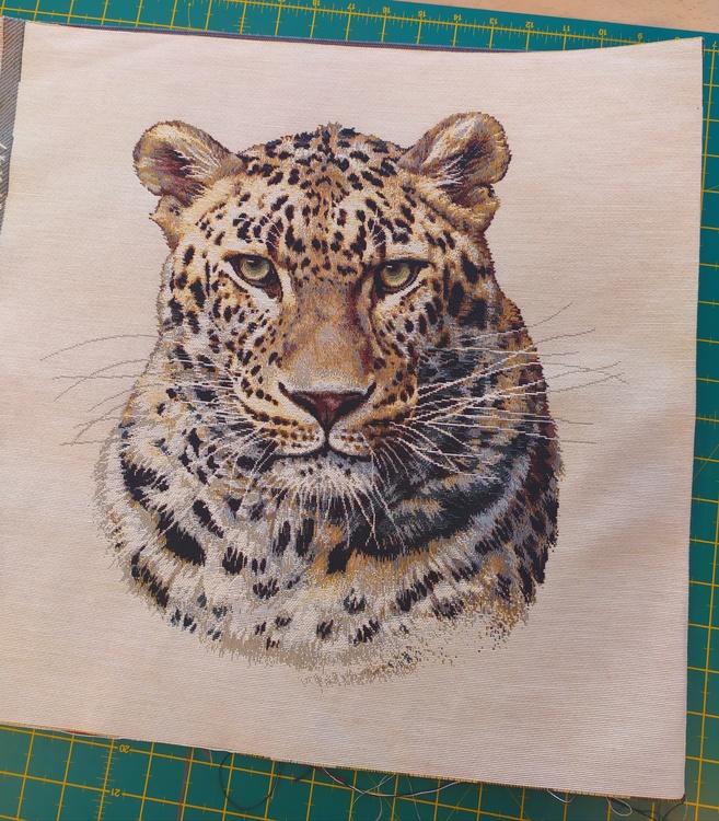 Gobeläng Larry Leopard