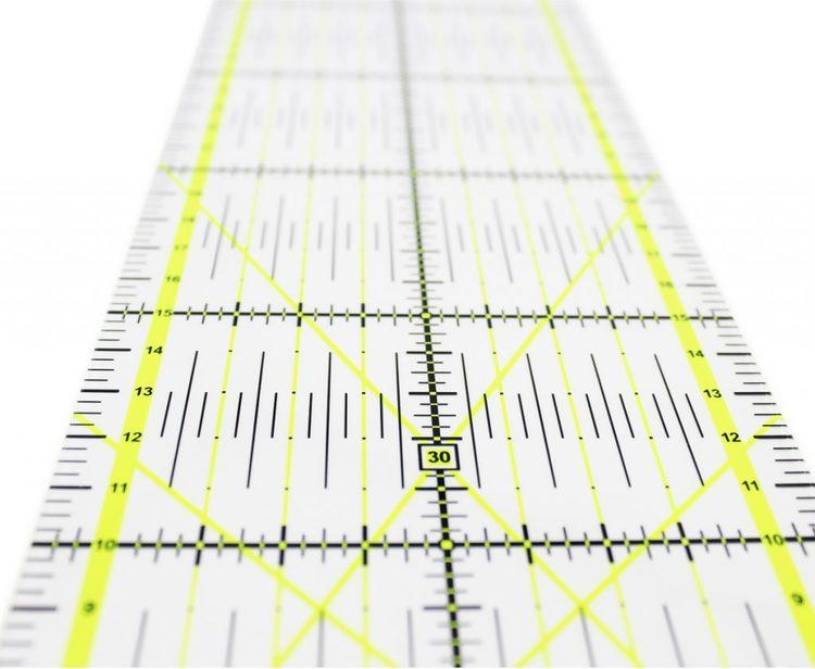 ALFA  Hogar 10x45 cm Quilt Linjal