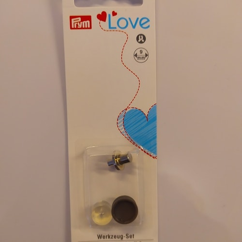 Extra insats till LOVE Colour snaps (plasttryckknappar) 9 mm