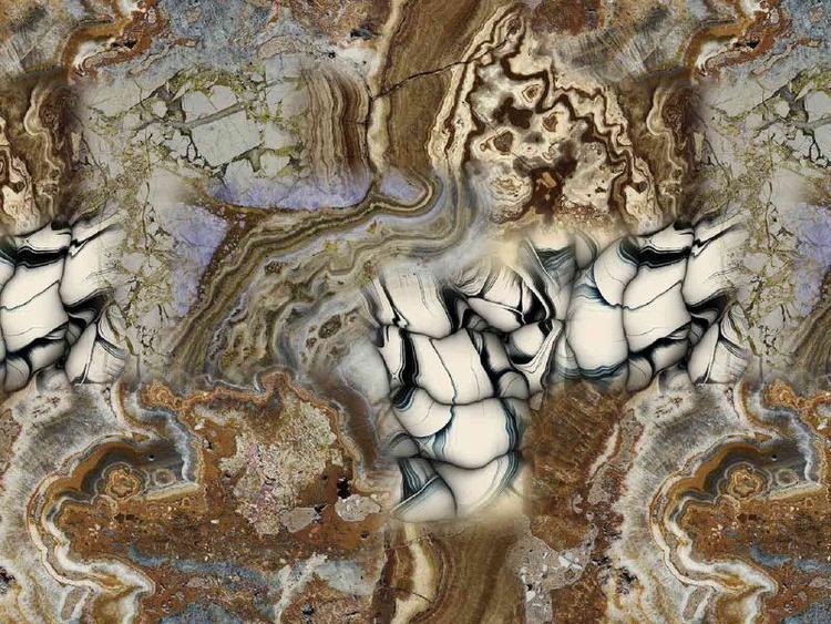 Bomullstrikå - Marmor Rost