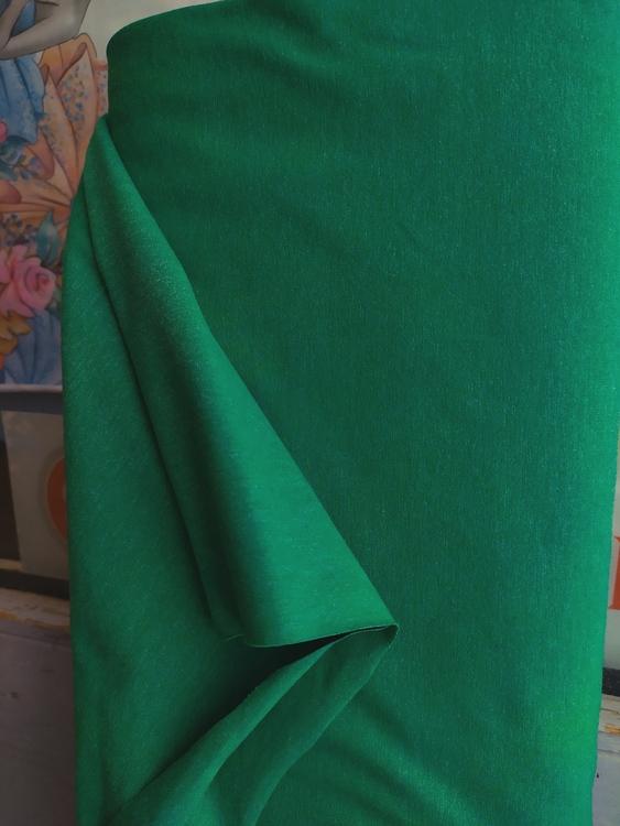 FILIPPA Bomullstrikå - Klargrön melerad Svante