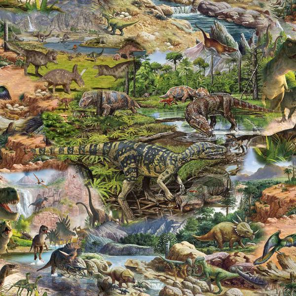 Bomullstrikå - Dinosaur
