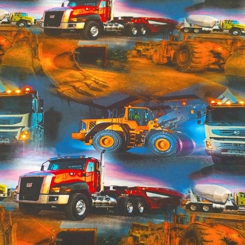 Bomullstrikå - Nattarbetande fordon