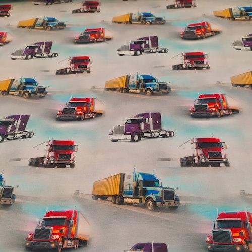 Bomullstrikå - Små lastbilar fordon