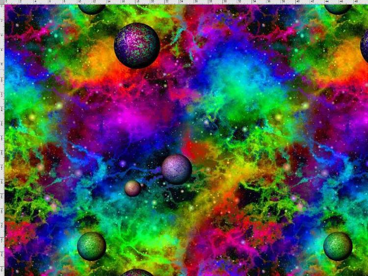 Bomullstrikå - Planeter på stjärnhimlen