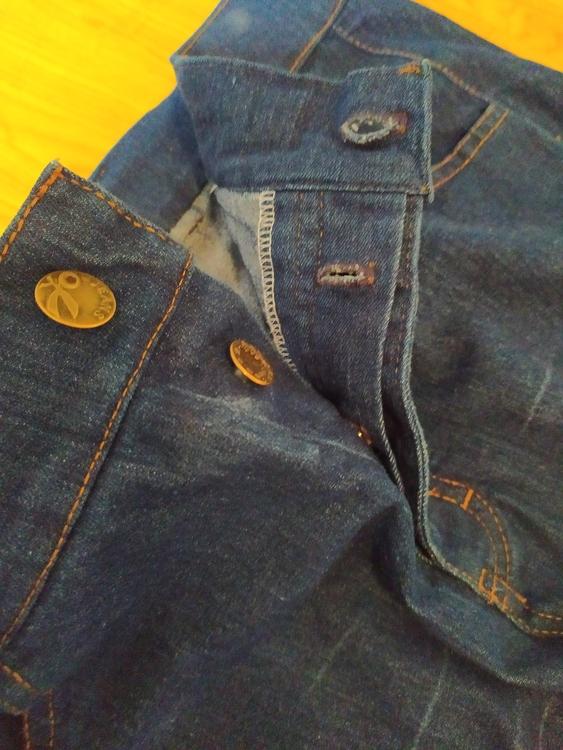 Stretchjeans Linnea - Jeansblå