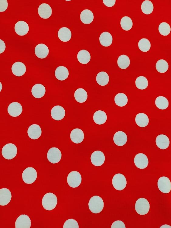 Stora prickar Röd
