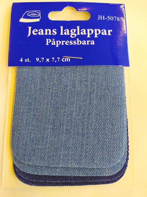 Laglapp av jeans Stryka fast