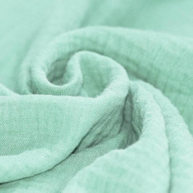 Muslin Double Gauze mintgrön